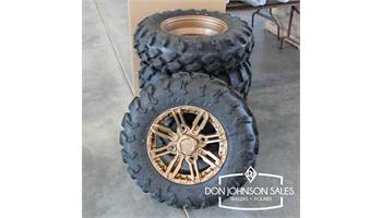 Coronado Tires with Polaris Aluminum Wheels