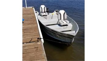 Fishing Boat includes 20HP Mercury & 15HP Johnson