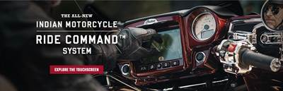 Link to the Official Indian Motorcycle Ride Command System site