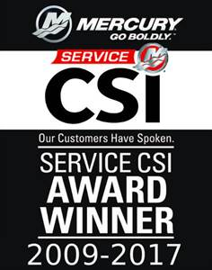 Mercury CSI Award Winner