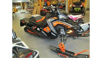 2019 Indy 800 XC 129 Black orange  burst GPS 1.35