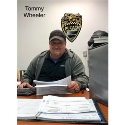 Tommy Wheeler - Service Manager