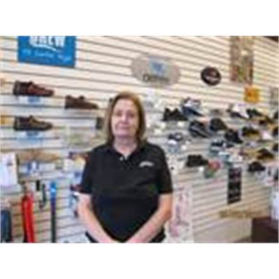 Kathy Guokas - CERTIFIED SHOE FITTER (C.PED) AND BILLING MANAGER