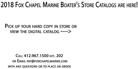 2018 BOATERS STORE CATALOG WEBSITE without pic
