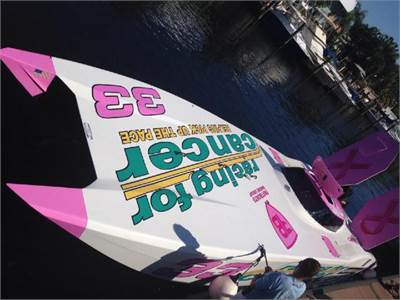 AutoNation / Racing for Cancer Offshore Racing Fulfills Goal Of Top-3 Finish In Key West