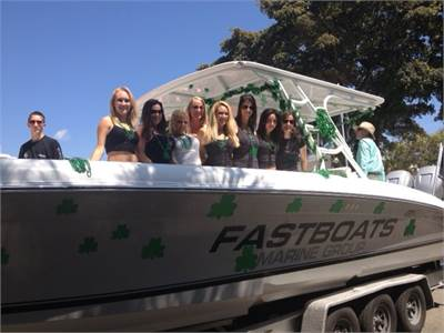FB Marine Group at Fort Lauderdale St Patrick's Day Parade!
