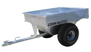 Galvanized ATV Bush Buggy Trailer