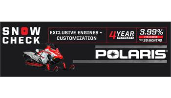 2020 POLARIS SNOWCHECK PROMOTION