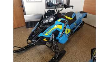 2019 2019 800 PRO-RMK 163 SC-SELECT, TUNNEL, SKY BLUE, ELECTRIC START, LOW BLACK WINDSHIELD
