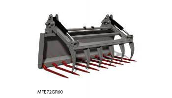 Manure Fork & Regular Utility Grapple