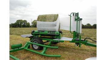 991 High Speed Round Bale Wrapper