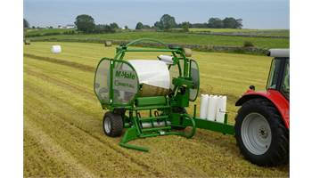 McHale Orbital High Speed Round Bale Wrapper