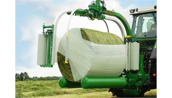 Stacking Bale Wrapper