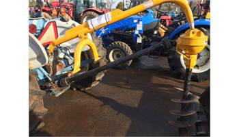 Post Hole digger with Double Flight Auger