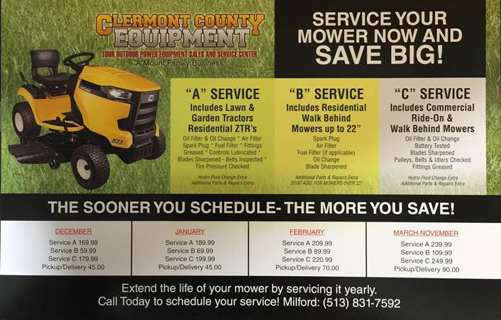 Clermont County Equipment