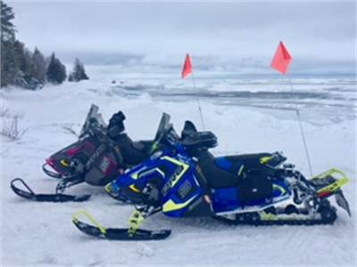 Jim & Linda's Snowmobile Adventures 2018