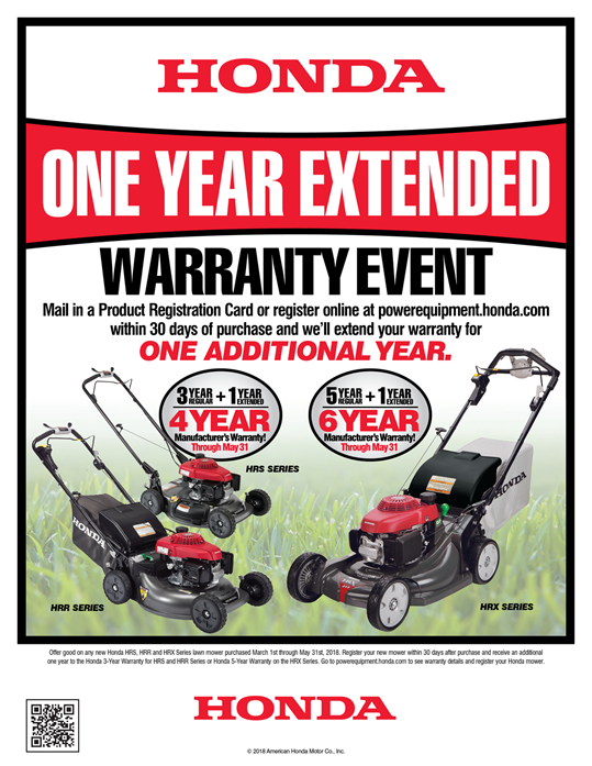 Honda One Year Extended Warranty Event