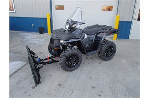 Sportsman 570 SP with Snow Plow System