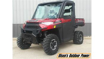 2018 RANGER  XP 1000 EPS Northstar HVAC Edition - Sunset Red Metallic