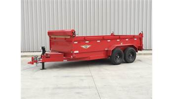 2019 16FT DB DUMP TRAILER
