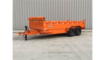 2019 14 FT DB DUMP TRAILER