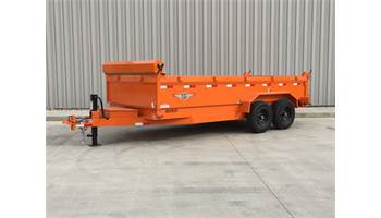 2019 16 FT DB DUMP TRAILER
