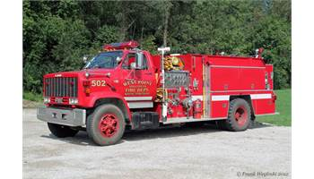 1981 1981 GMC Fire Truck 366 Big Block(not actual pic of truck same style)