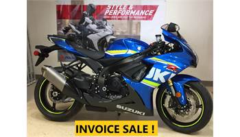 2018 GSX-R750   Payment as low as $213- mo OAC