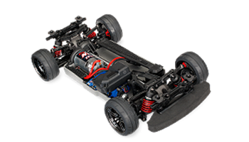 1/10 Scale 4-Tec 2.0 AWD Chassis