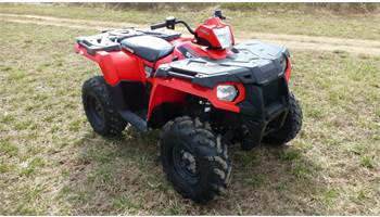 2015 SPORTSMAN 570 Indy Red