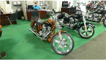 2008 FXDSE2 CVO Dyna 105th Anniversary Edition