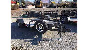 2018 10' Flatbed Utility Trailer