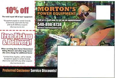 mortons winter service coupon