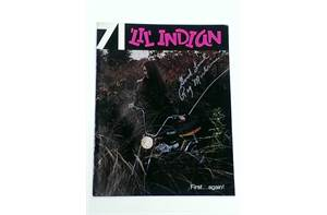 LiL Indian 1971 Catalog - Sign by Ray Michrina