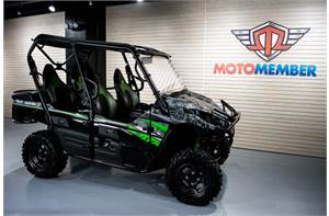 Teryx4 LE Camo with Accessories