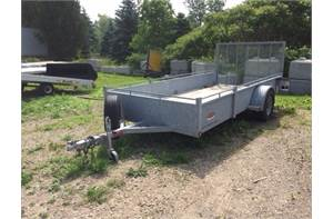 USED Galvanized Steel Sled/Dirt - Open BLOWOUT SALE!