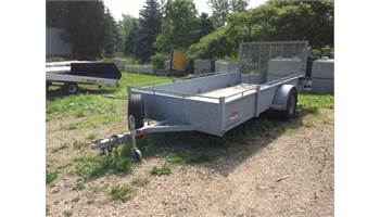 2015 USED Galvanized Steel Sled/Dirt - Open BLOWOUT SALE!