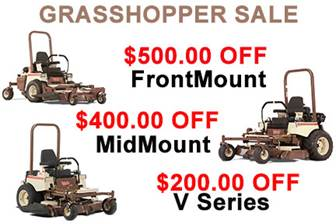 GRASSHOPPER OPEN HOUSE SALE