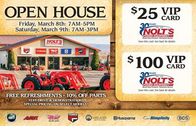 Download our Open House Flyer