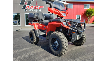 2018 Sportsman® Touring 570 - Indy Red