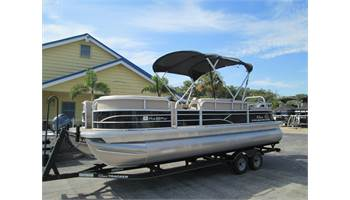 2017 PARTY BARGE 22 DLX