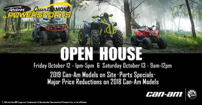 October 12 Open House