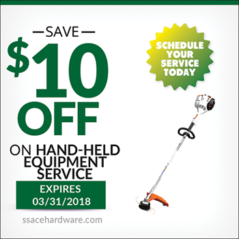 Hand Held Service Coupon