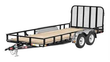 Tandem Axle Channel Utility Trailer 22'