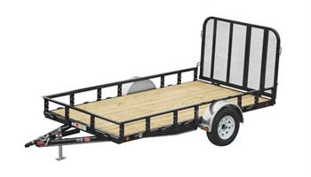 Single Axle Channel Utility 10'