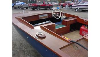 1972 Homemade wooden catamaran with twin engines