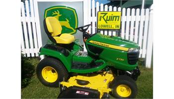 2017 USED X730 w/Drive-Over 60in 'AutoConnect' Mower Deck
