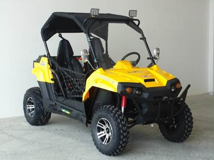 2017 TRAILMASTER CHALLENGER 150X YOUTH UTV