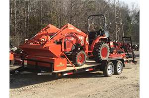 Kubota L3901 HST Tractor Package