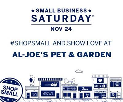 Al-Joe's Small Business Saturday